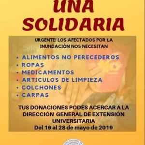 """Campaña """"UNA Solidaria"""""""