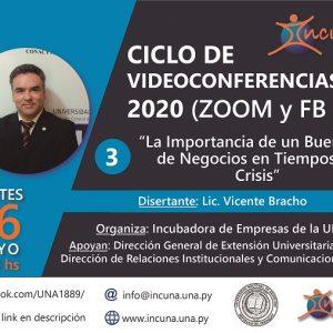 Ciclo de Video Conferencias 2020 – N° 3