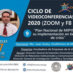 Ciclo de Video Conferencias 2020 – N° 9