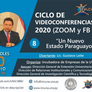 Ciclo de Video Conferencias 2020 – N° 8