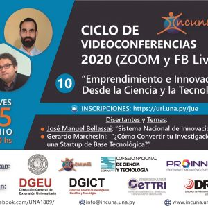 Ciclo de Video Conferencias 2020 – N° 10