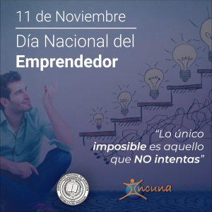 ¡Feliz Día Nacional del Emprendedor!