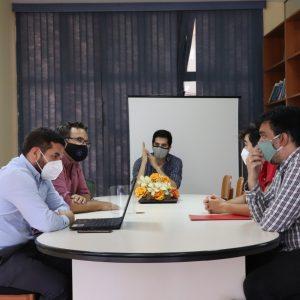 """Presentación del Emprendimiento """"Tajy Network"""" a consultores del CONACYT"""